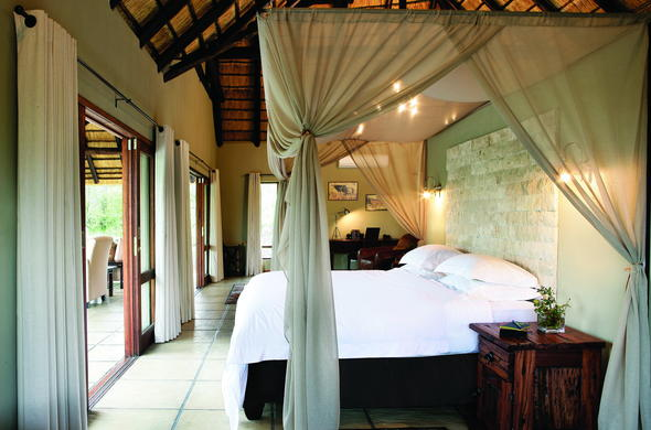 Luxury Room accommodation at Arathusa Safari Lodge.
