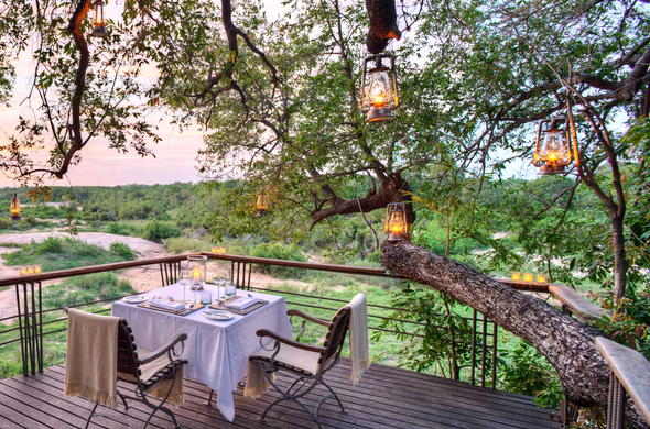 Romantic safari at Dulini Leadwood Lodge in Sabi Sand Reserve.