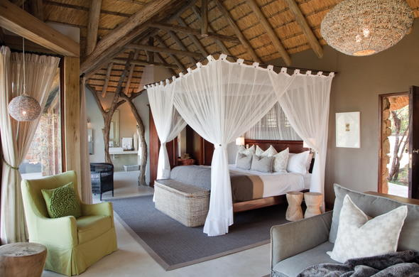 Leopard Hills Safari Lodge offers luxurious accommodation.