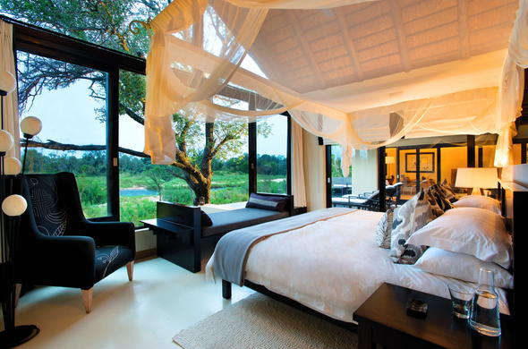 Luxurious Sabi Sands Game Reserve accommodation at Lion Sands Ivory Lodge.
