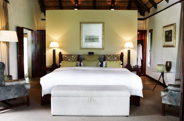 Londolozi Varty Camp has luxurious accommodation.
