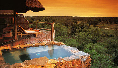 honeymoon safari lodge.