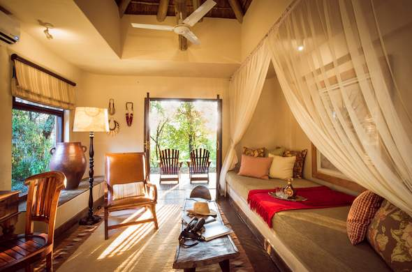 Suite accommodation at Sabi Sabi Bush Lodge.