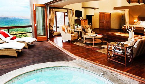 Premier Safari lodge in Sabi Sand Reserve.