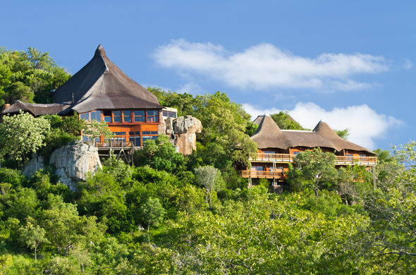Ulusaba Rock Lodge located in the Sabi Sand Private Game Reserve.